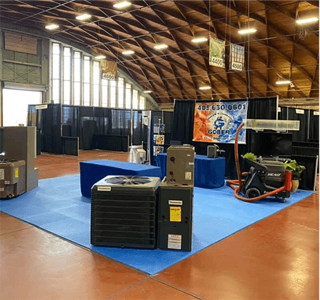 Gober Heating & Air Conditioning Showroom