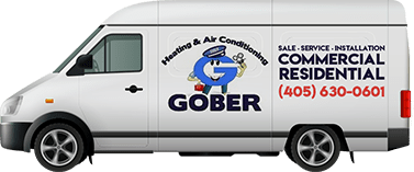 Gober Heating & Air Conditioning Service Vehicle