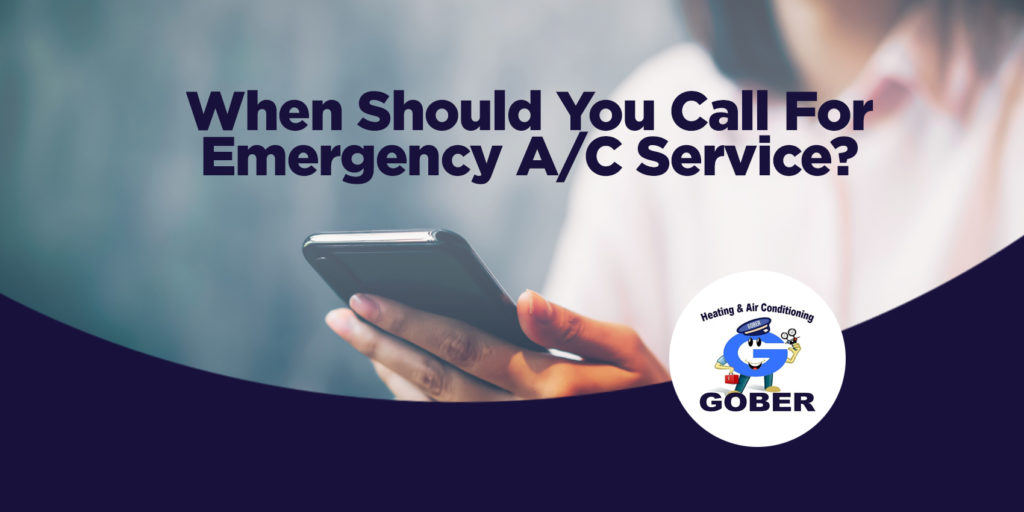 When Should You Call For Emergency A/C Service?