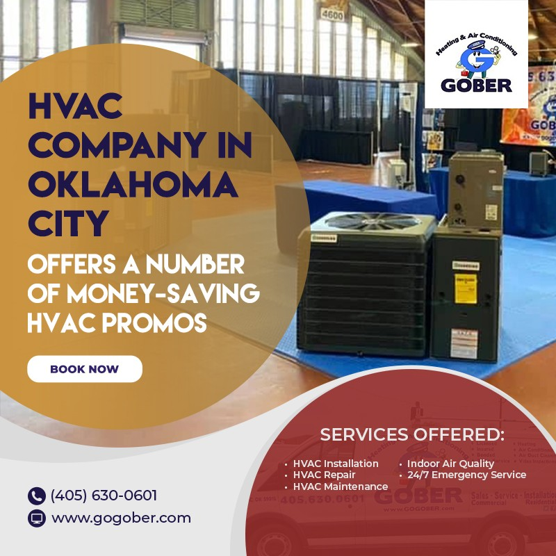 HVAC Company in Oklahoma City Offers a Number of Money-Saving HVAC Promos
